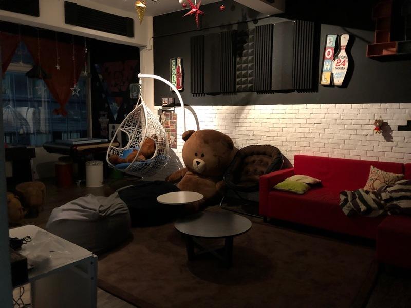 Party Room 尖沙咀 Hong Kong hk 香港 玩樂活動 Black Maxi House 適合 6 至 25 人