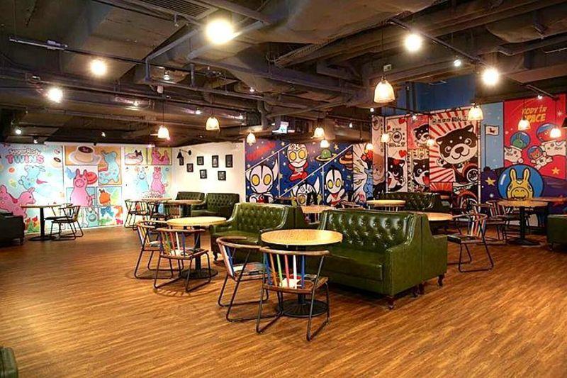 聚會Cafe 九龍灣 Hong Kong hk 香港 玩樂活動 Comic Park & Cafe 適合 0 至 100 人