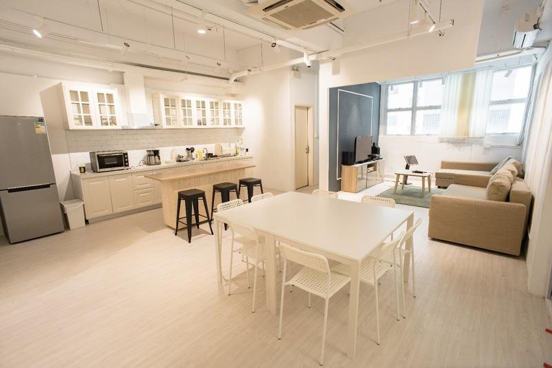 Party Room 沙田 Hong Kong hk 香港 玩樂活動 Comma Party 石門店 - 休閒廚房主題房 適合 8 至 25 人