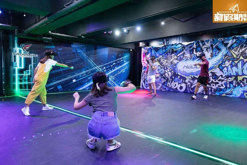 新穎室內運動 / 室內玩樂 荔枝角 Hong Kong hk 香港 玩樂活動 全港首個 HADO AR運動競技遊戲 適合 1 至 40 人