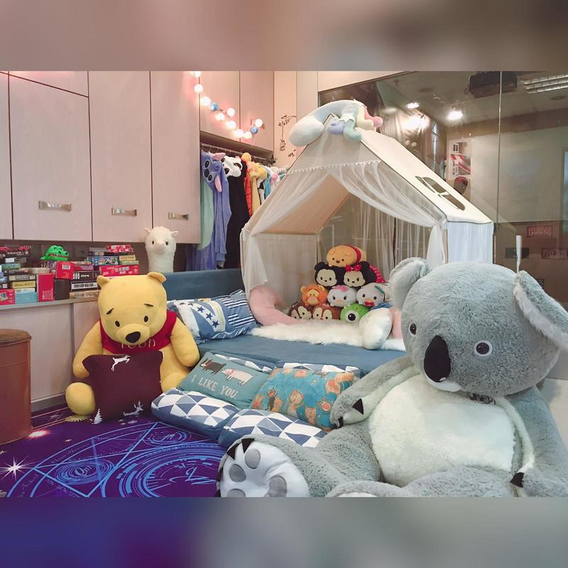 Party Room 長沙灣-荔枝角 Hong Kong hk 香港 玩樂活動 Winnie Dream House - Partyroom 適合 4 至 40 人