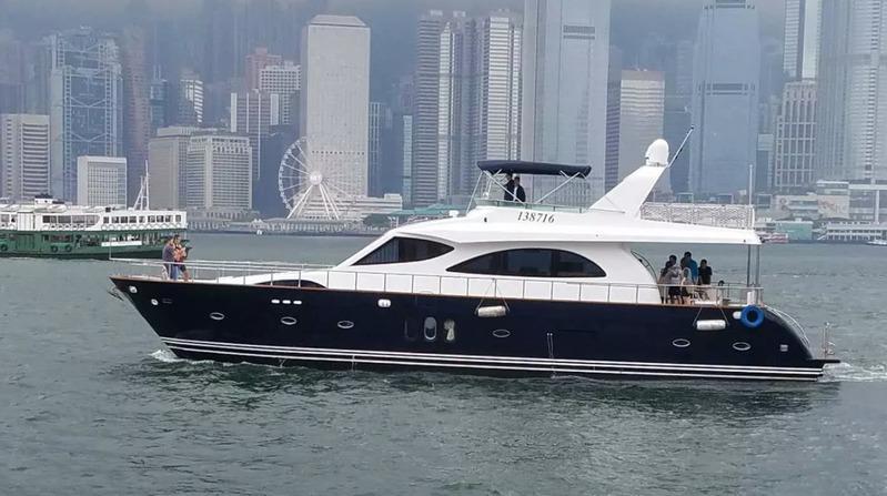 遊艇派對  Hong Kong hk 香港 玩樂活動 72 呎大型遊艇 50人熱鬧Party好選擇 (50人或以下) 適合 1 至 50 人