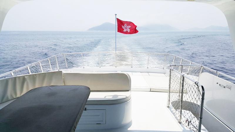 遊艇派對  Hong Kong hk 香港 玩樂活動 66呎豪華遊艇 多人豪華聚會 (42人或以下)  適合 1 至 42 人
