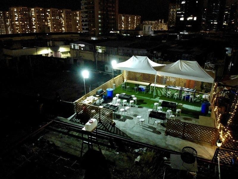 BBQ場地 觀塘 Hong Kong hk 香港 玩樂活動 kt13 觀塘拾叄樓 BBQ 體驗(連室內大房 Party Room) 適合 10 至 50 人
