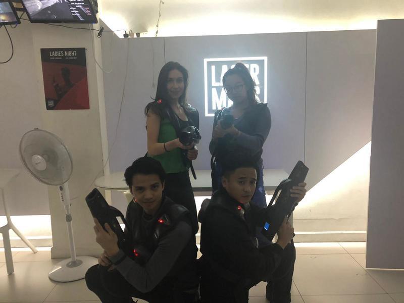 運動或VR競技 銅鑼灣 Hong Kong hk 香港 玩樂活動 Lasermads 太空船鐳射槍對戰體驗 適合 2 至 12 人