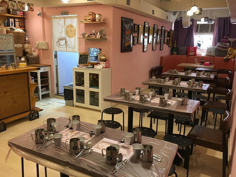 聚會Cafe 旺角 Hong Kong hk 香港 玩樂活動 笠笠咖啡 本土Cafe 體驗 適合 2 至 6 人