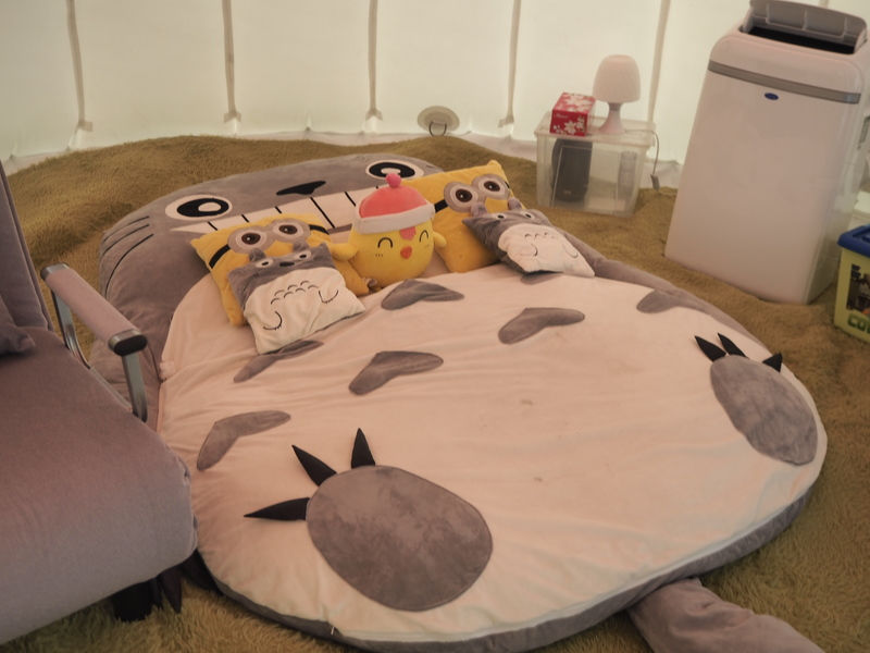 戶外玩樂 天水圍 Hong Kong hk 香港 玩樂活動 白泥親子大蘑菇營帳  適合 2 至 4 人