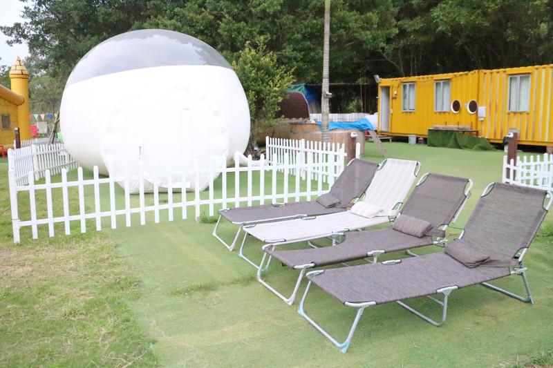 戶外玩樂 天水圍 Hong Kong hk 香港 玩樂活動 Mingle Farm - 波子營帳(半透明) 適合 1 至 3 人