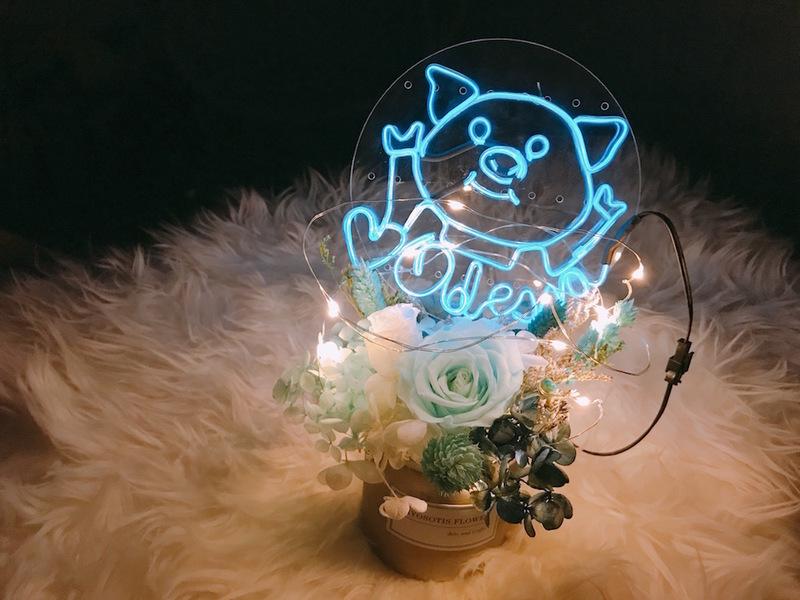 藝術體驗-手作工作坊 觀塘 Hong Kong hk 香港 玩樂活動 迷你「霓虹燈」工作坊- 迷你蛋糕插牌款 ✨連盆栽✨ 適合 0 至 100 人