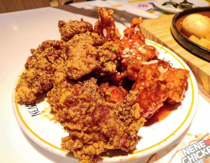 Foodie 食評 旺角 Hong Kong hk 香港 玩樂活動 NeNe Chicken: 蒜香醬油/甜辣炸雞 適合 2 至 8 人