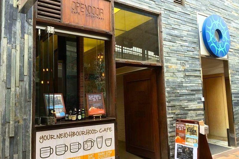 聚會Cafe 西營盤 Hong Kong hk 香港 玩樂活動 Opendoor Cafe + Courtyard 適合 0 至 100 人