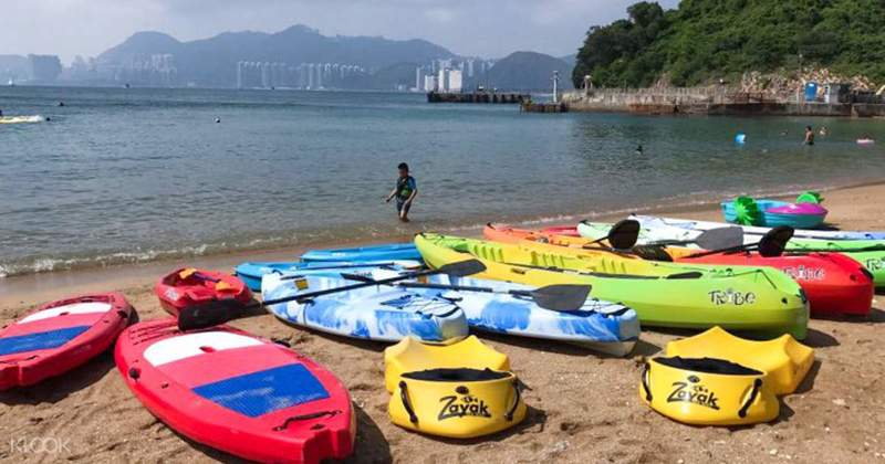 戶外玩樂 南丫島 Hong Kong hk 香港 玩樂活動 西沙水上活動中心 適合  至  人