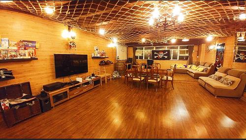 Party Room 葵涌 Hong Kong hk 香港 玩樂活動 場地 Big Party - ☠ 海盜主題 適合 12 至 70 人