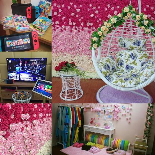 Party Room 葵涌 Hong Kong hk 香港 玩樂活動 場地 Big Party - 夢幻花牆主題! 適合 4 至 15 人