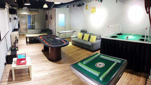 Party Room 觀塘 Hong Kong hk 香港 玩樂活動 場地 Grey House - Classic 適合 10 至 30 人