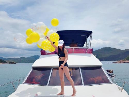 遊艇派對  Hong Kong hk 香港 玩樂活動 場地 55呎中型遊艇 釣墨魚聚會之選(30人或以下) 適合 1 至 30 人
