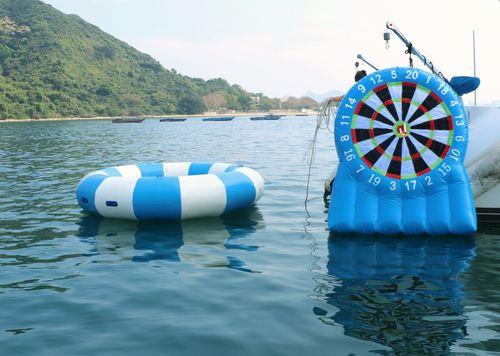 遊艇派對  Hong Kong hk 香港 玩樂活動 場地 53呎中型遊艇 多款水上活動任你揀(30人或以下) 適合 1 至 30 人