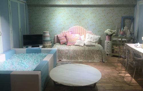 "Party Room 觀塘 Hong Kong hk 香港 玩樂活動 場地 Hide N"" Seek - Girlish 主題房 適合 6 至 100 人"