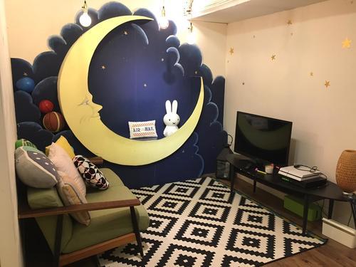 """Party Room 觀塘 Hong Kong hk 香港 玩樂活動 場地 Hide N"""" Seek - The Moon 主題房 適合 6 至 100 人"""