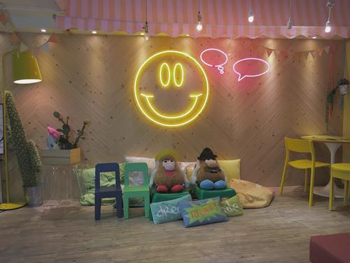 """Party Room 觀塘 Hong Kong hk 香港 玩樂活動 場地 Hide N"""" Seek - Smiley 主題房 適合 6 至 100 人"""