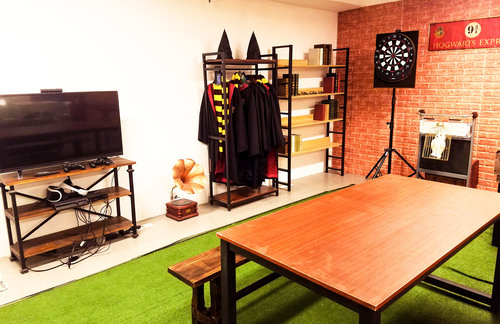 Party Room 新蒲崗 Hong Kong hk 香港 玩樂活動 場地 Witchcraft Express Party - 魔幻學院 適合 10 至 60 人