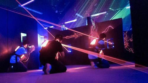 銅鑼灣太空主題鐳射槍戰 Laser Tag hk hong kong 香港 玩樂活動