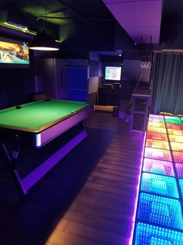 Party Room 觀塘 Hong Kong hk 香港 玩樂活動 場地 Night Area Partyroom KT301A 適合 8 至 60 人