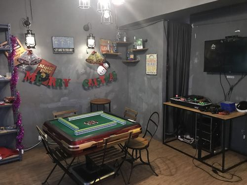 Party Room 觀塘 Hong Kong hk 香港 玩樂活動 場地 Nowheres Party Room - 北歐美式房 適合 9 至 15 人