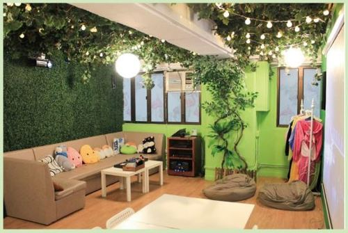 Party Room 觀塘 Hong Kong hk 香港 玩樂活動 場地 Partyland Plus - Green House 適合 5 至 15 人