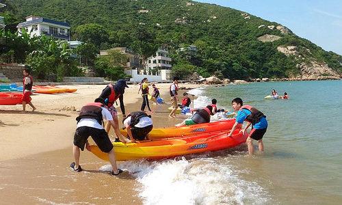 戶外玩樂 南丫島 Hong Kong hk 香港 玩樂活動 場地 西沙水上活動中心 適合  至  人
